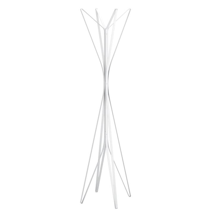 Zanotta - Aster Garderobe, weiß, 4 Arme