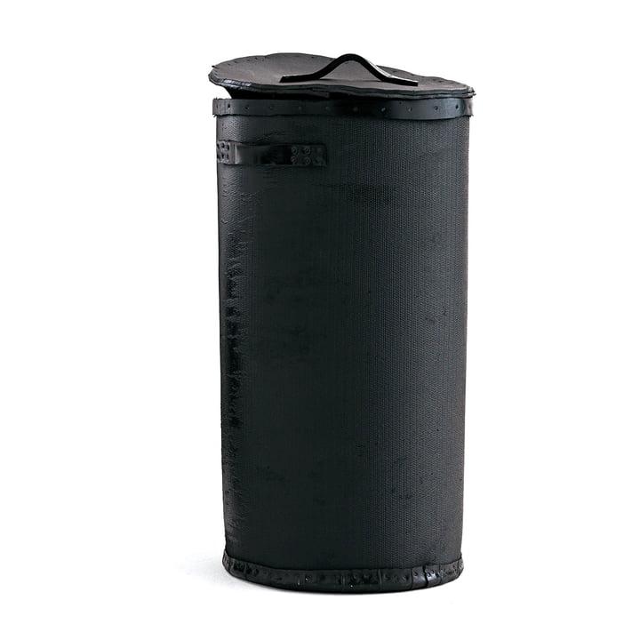 Poubelle Abfalleimer, H 60 cm von Opinion Ciatti in schwarz