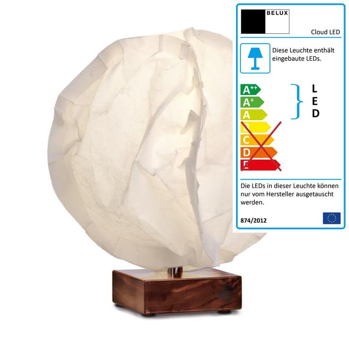 Babycloud LED Tischleuchte von Belux in Warmweiß
