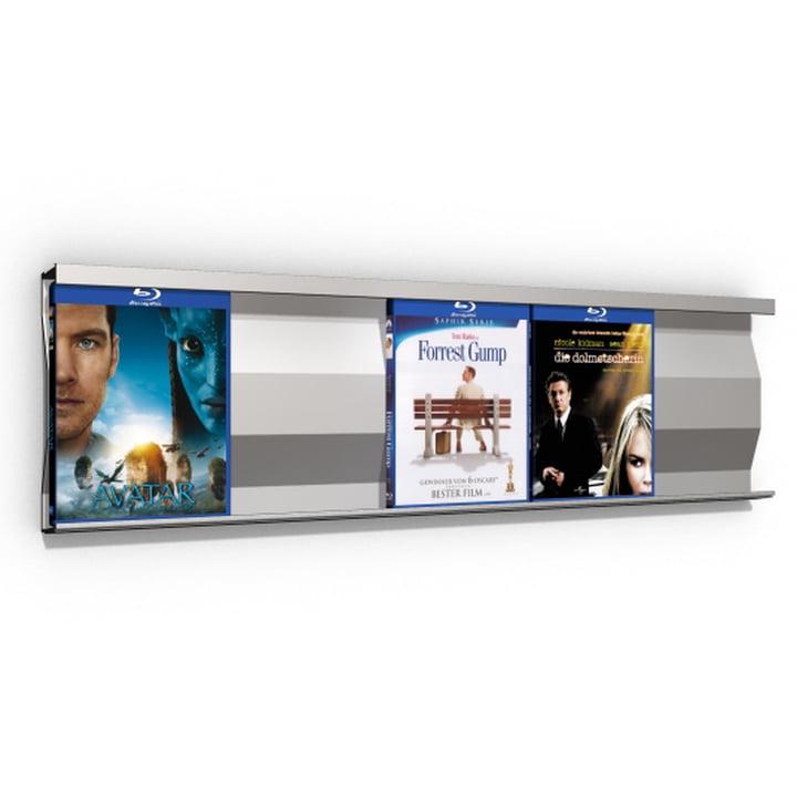 Sigmarail Aluminium Blu-ray Regalsystem SR5