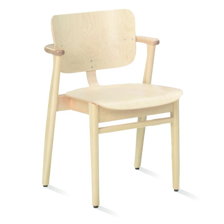 Domus Stuhl von Artek in Birke natur lackiert