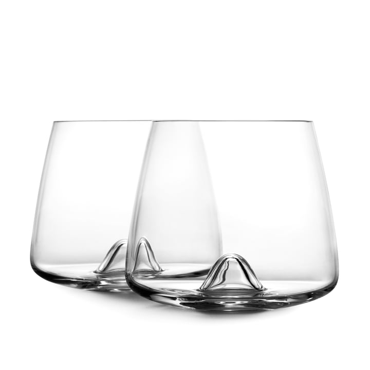 Normann Copenhagen - Whisky Glas, Duo schräg voreinander stehend