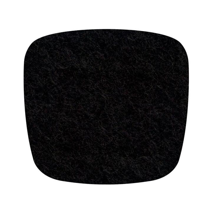 Hey Sign - Filz-Auflage Eames Plastic Armchair, schwarz 5mm AR
