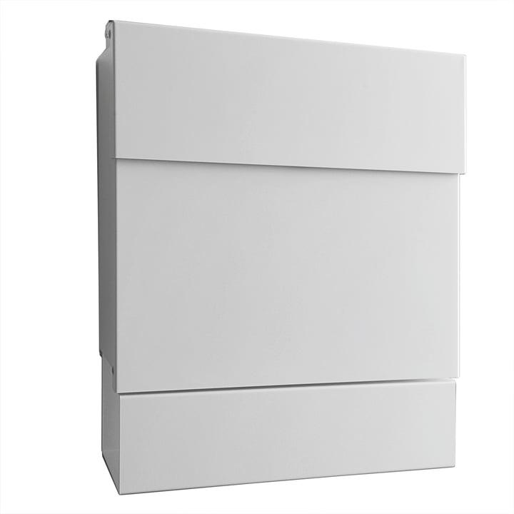 Briefkasten Letterman V von Radius Design in Weiß