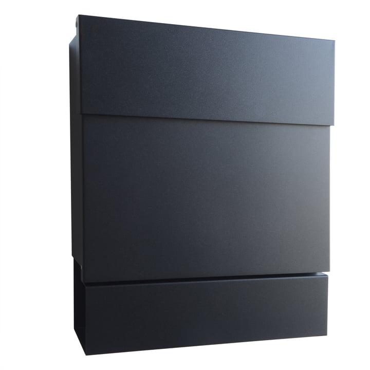 Briefkasten Letterman V von Radius Design in Schwarz