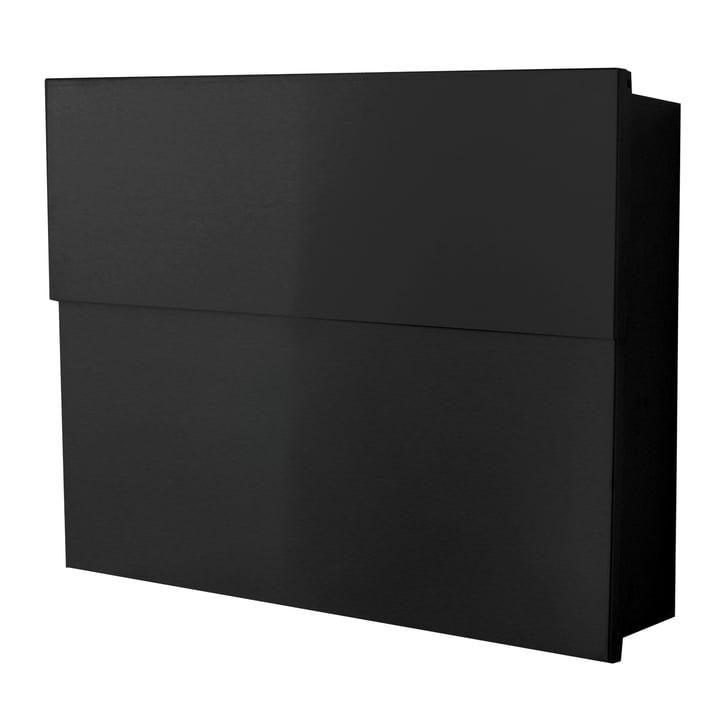 Briefkasten Letterman XXL II von Radius Design in Schwarz