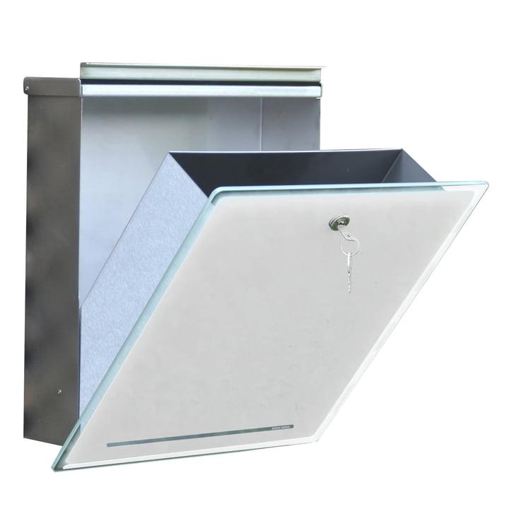 Briefkasten Letterman III von Radius Design in weiß