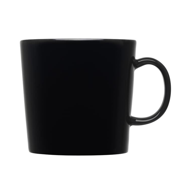 Teema Becher mit Henkel (hoch), 0,4 l von Iittala in Schwarz