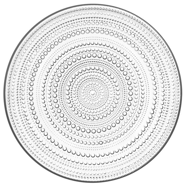 Kastehelmi Teller Ø 31,5 cm von Iittala in klar