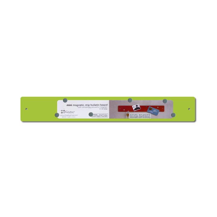 ThreeByThree - Magnetstreifen mini 35 x 5 cm, limone