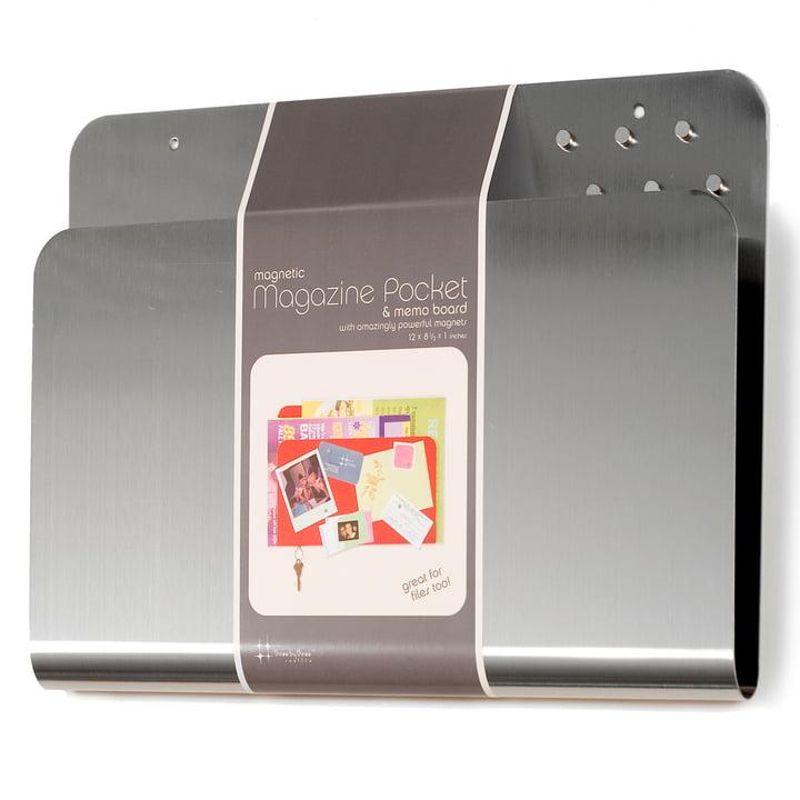 ThreeByThree - Magazine Pocket, silber
