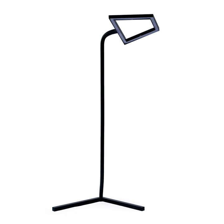 2D LED Stehleuchte von Skitsch in Schwarz