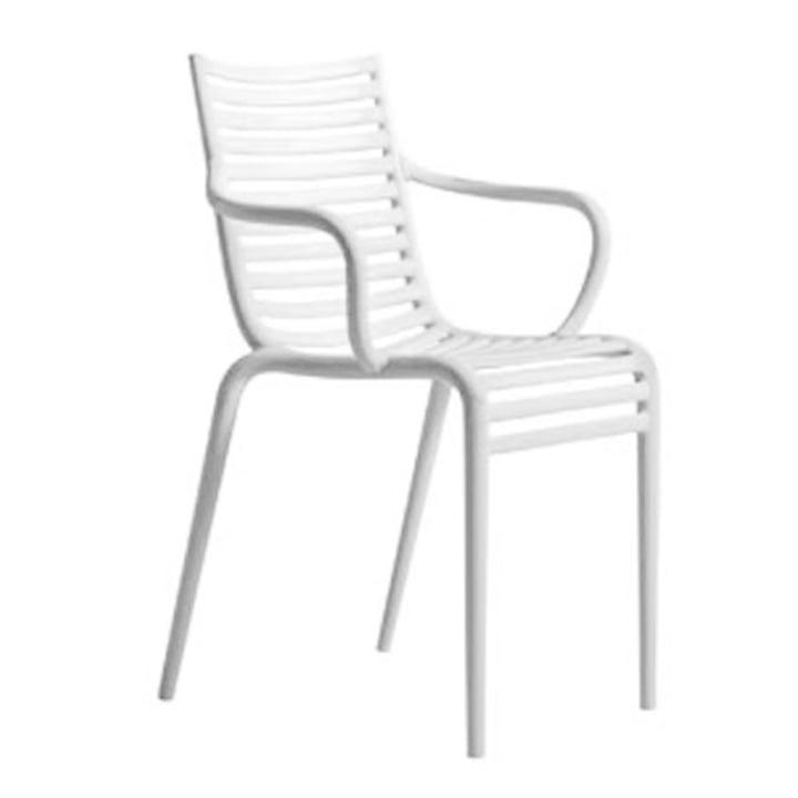 PIP-e Armlehnstuhl, weiß (B4) von Driade
