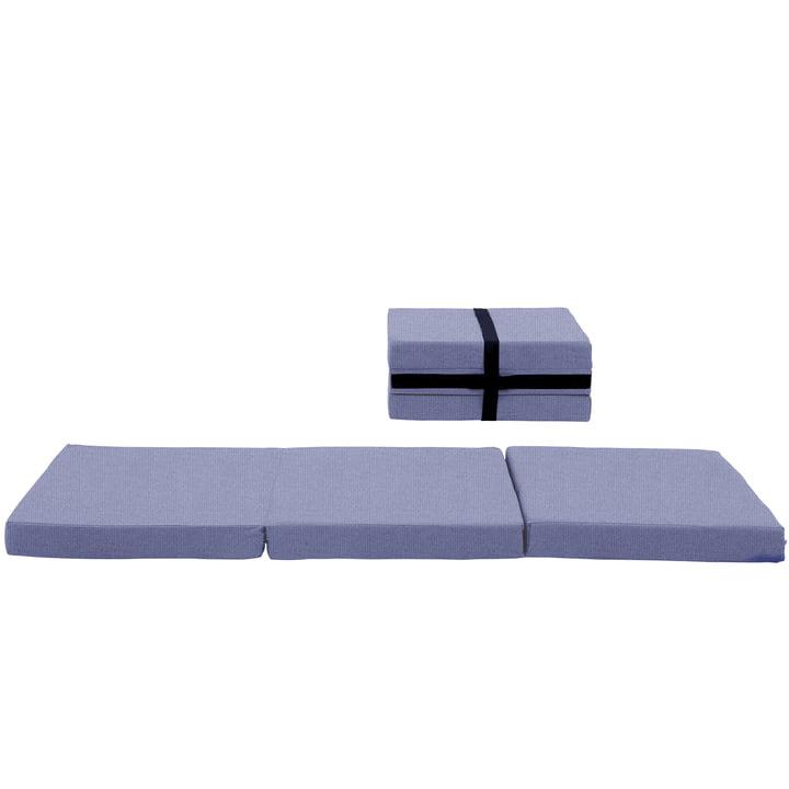 Softline - Handy Koffermatratze, Vision grau-blau (441)