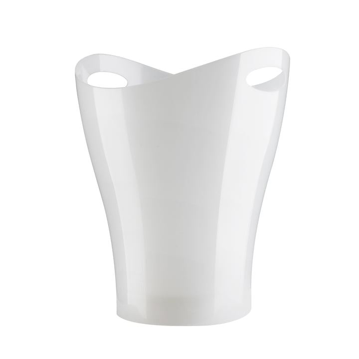 Umbra - Garbino Can, weiß glänzend