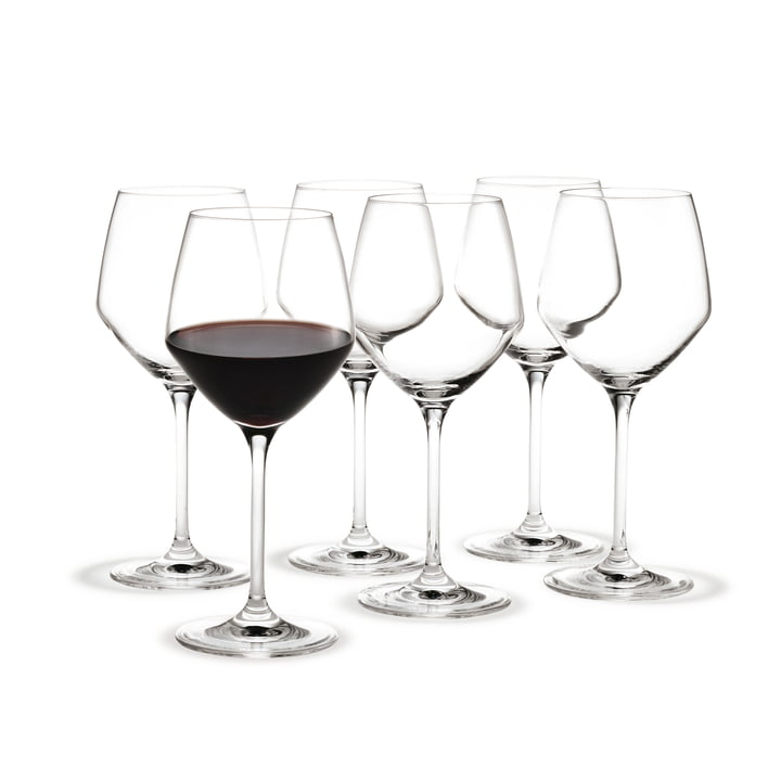 Holmegaard - Perfection Rotwein-Glas, 35cl (6er-Set)