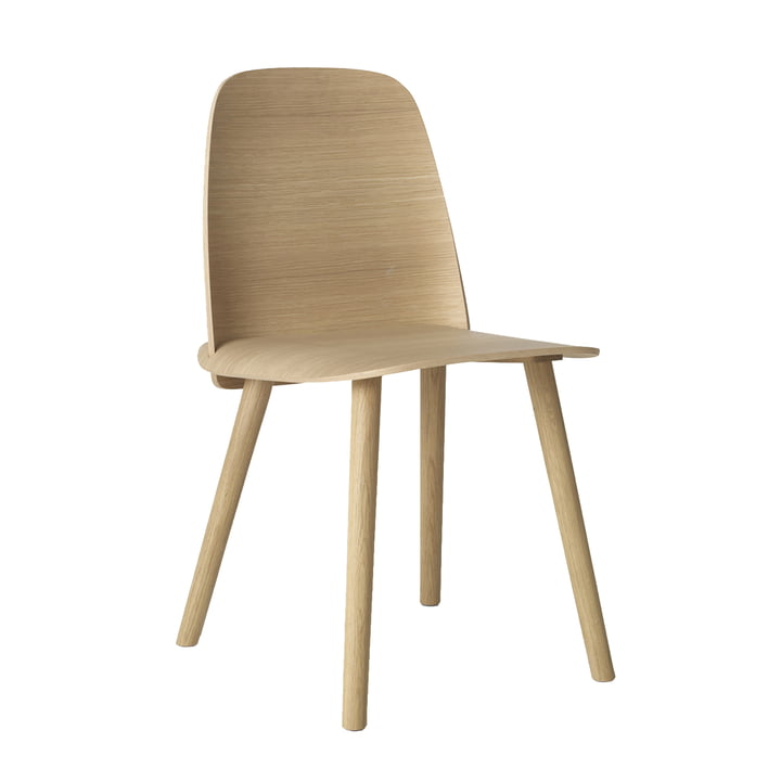 Nerd Chair von Muuto in Eiche