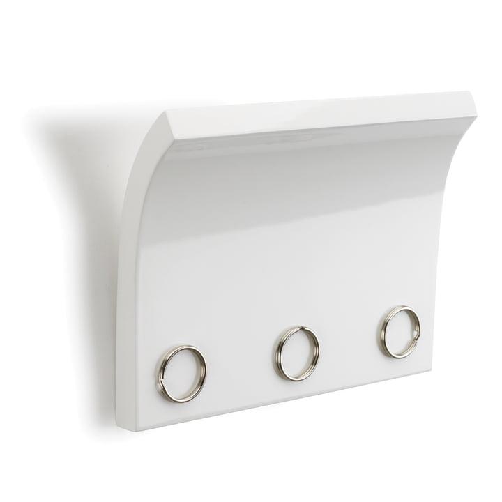 Umbra - Magnetter Schlüsselbrett, weiß