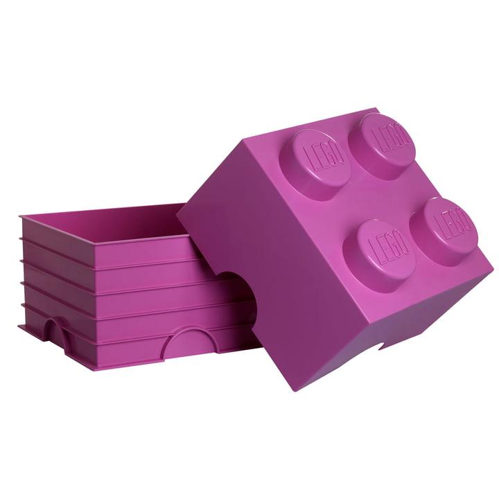 Storage Brick 4 von Lego in Pink