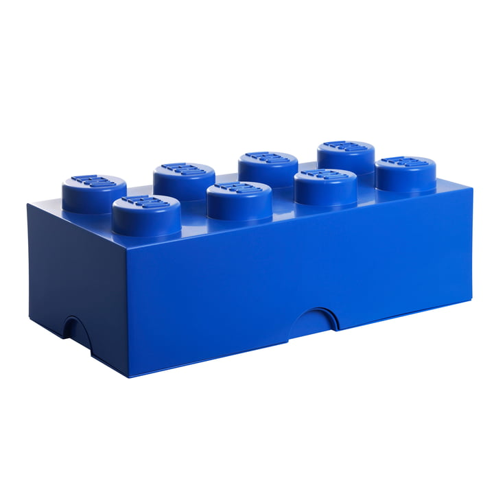 Storage Brick 8 von Lego in Blau