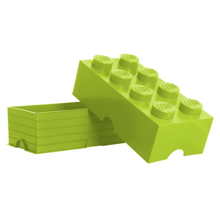 Storage Brick 8 von Lego in Hellgrün