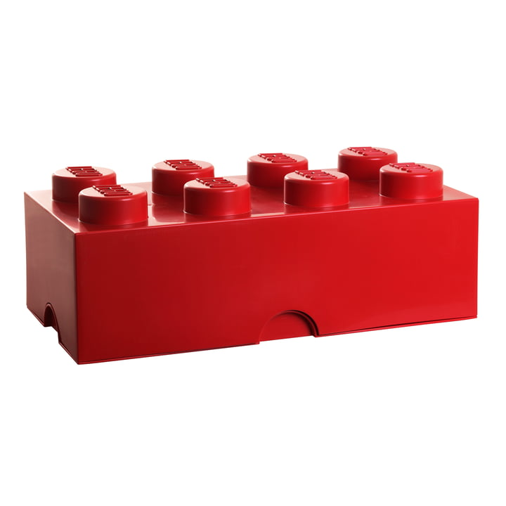 Storage Brick 8 von Lego in Rot
