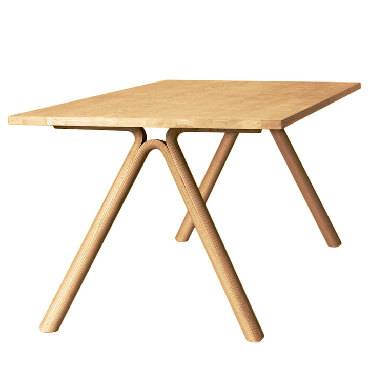 Split Table von Muuto in Eiche