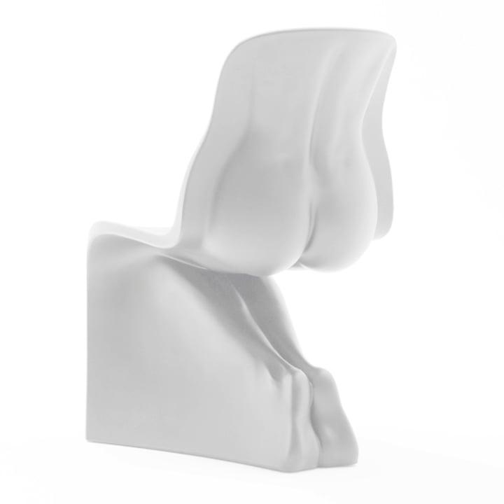 HER Stuhl von Casamania in Weiß matt