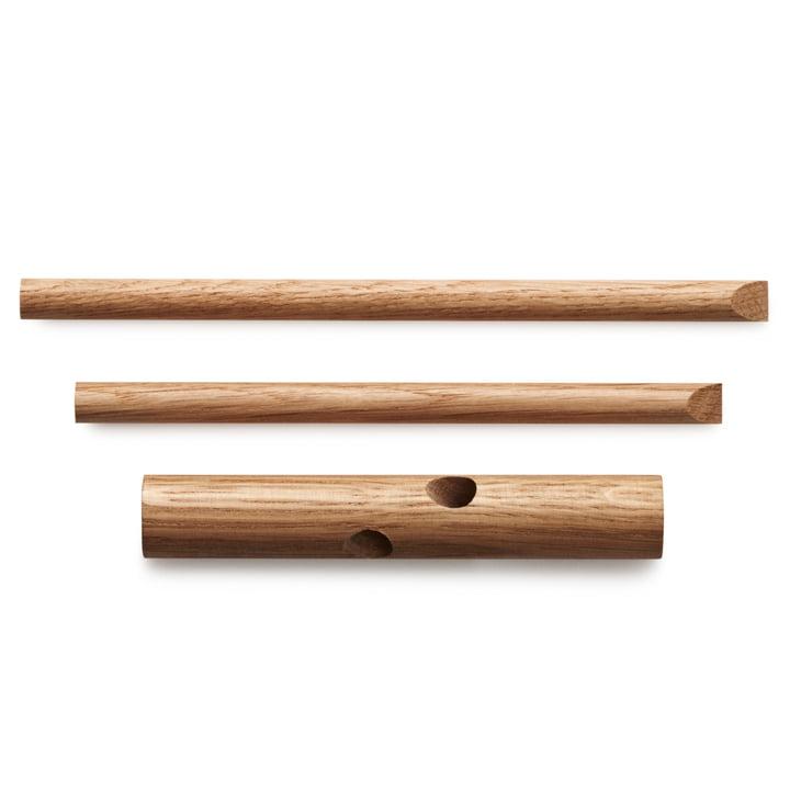 Normann Copenhagen - Sticks Haken, natur - Einzelteile