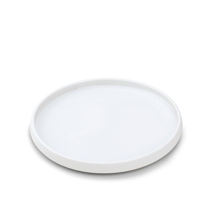 Nordic Tablett in weiß, Ø 30 cm