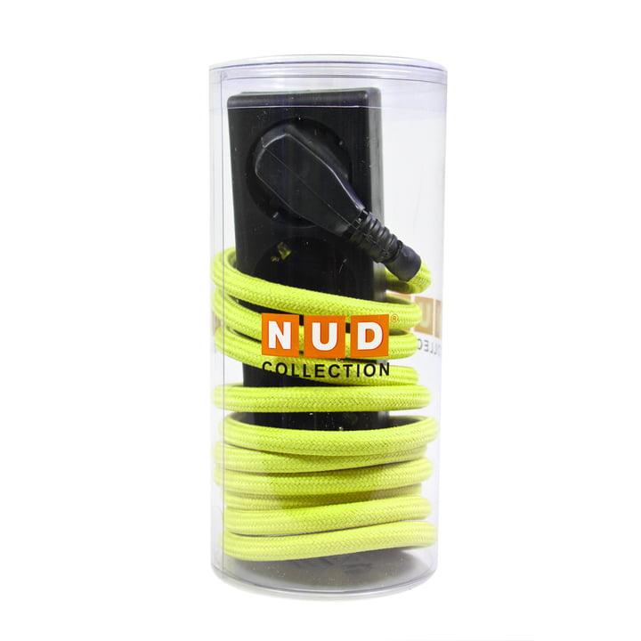 3fach-Steckdose von NUD Collection in Gelb