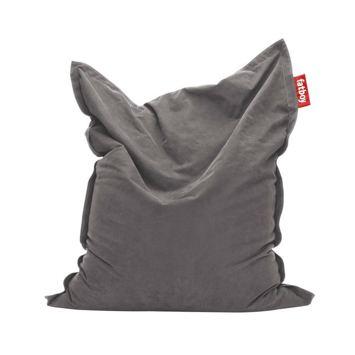 Original Sitzsack Stonewashed von Fatboy in Grau