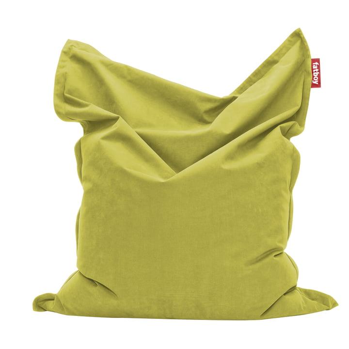 Original Sitzsack Stonewashed von Fatboy in Limettengrün