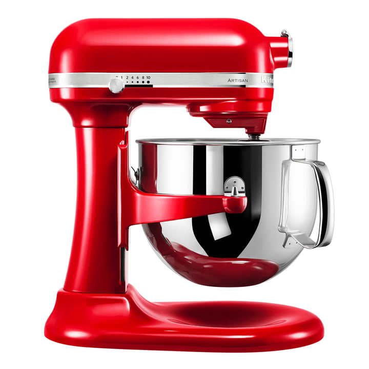 KitchenAid - Artisan Küchenmaschine 6.9 l, empire rot