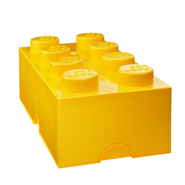 Storage Brick 8 von Lego in Gelb