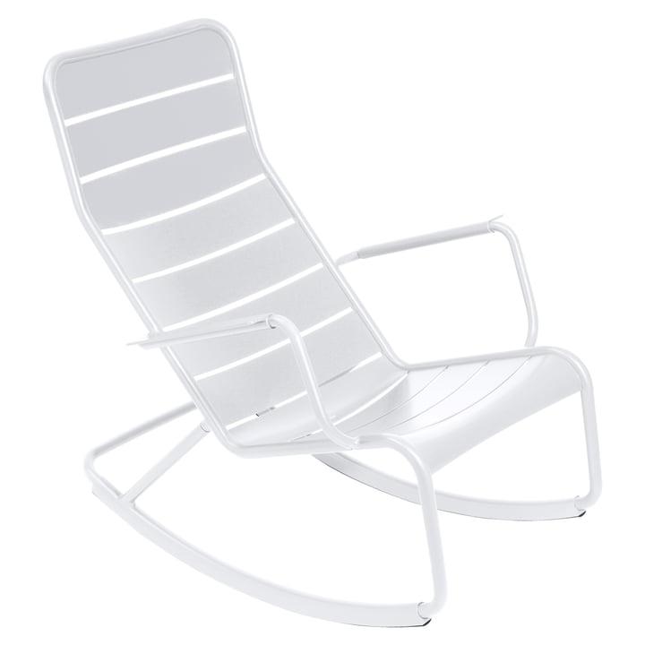 Luxembourg Schaukelstuhl von Fermob in Weiß