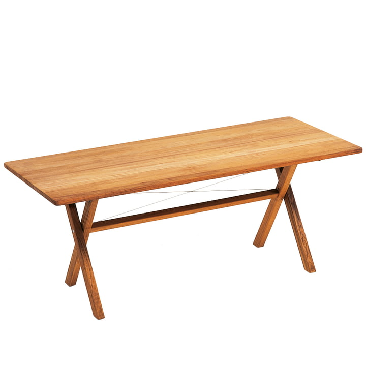 Weishäupl - Cross Table, 180 cm, Teak
