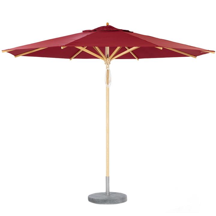 Weishäupl - Basicschirm Sonnenschirm, Dolan, rot
