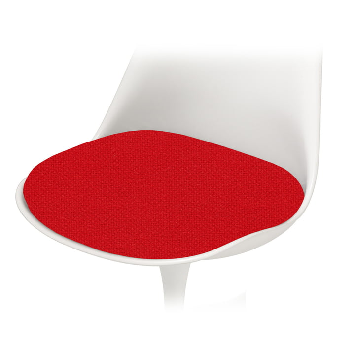 Knoll - Sitzkissen für Saarinen Tulip Stuhl, Tonus, rot