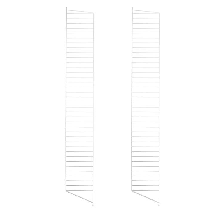 Bodenleiter für String Regal 200 x 30 cm (2er-Set) von String in Weiß