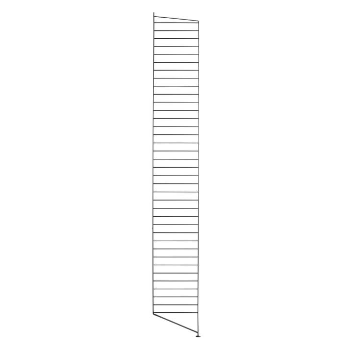 Bodenleiter für String Regal 200 x 30 cm von String in Schwarz