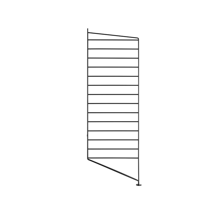 Bodenleiter für String Regal 85 x 30 cm von String in Schwarz