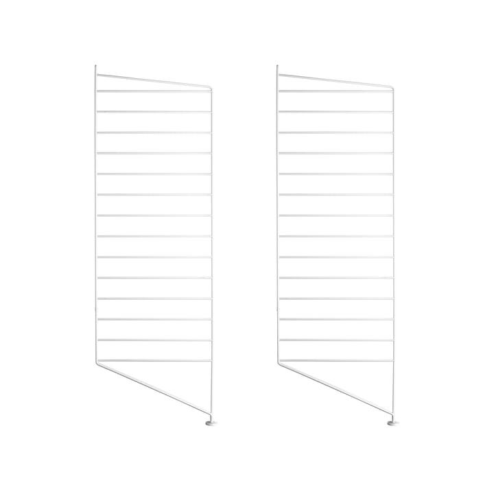 Bodenleiter für String Regal 85 x 30 cm (2er Set) von String in Weiß
