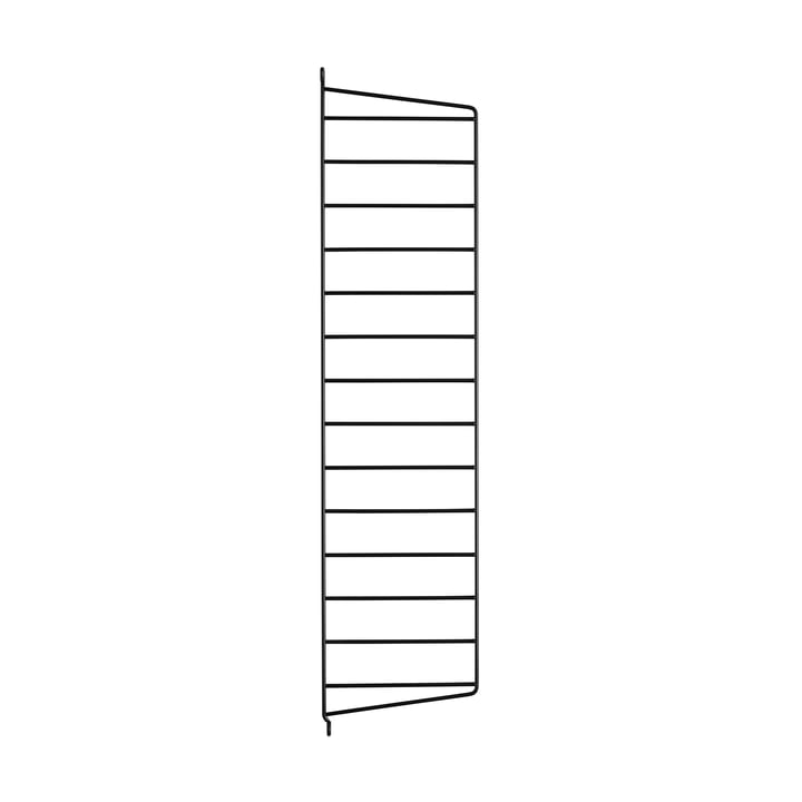 Wandleiter für String Regal 75 cm von String in Schwarz