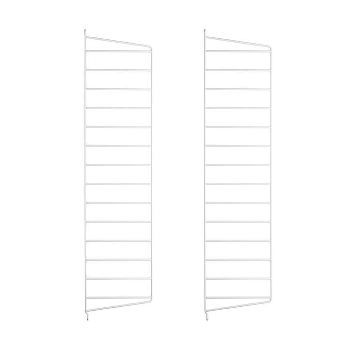 Wandleiter für String Regal 75 cm (2er-Pack) von String in Weiß