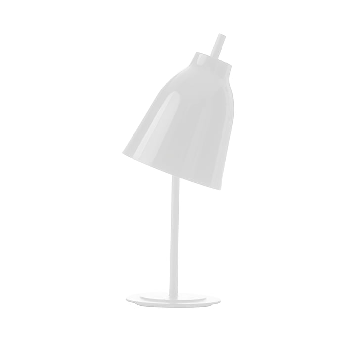 Caravaggio Tischleuchte von Fritz Hansen in glänzend Weiß