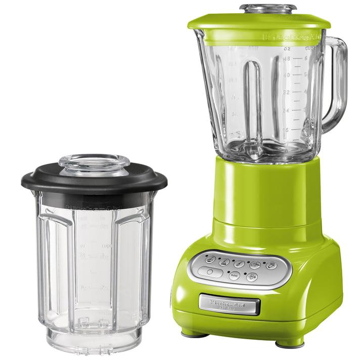 KitchenAid - Artisan Standmixer mit Glasbehälter, apfelgrün
