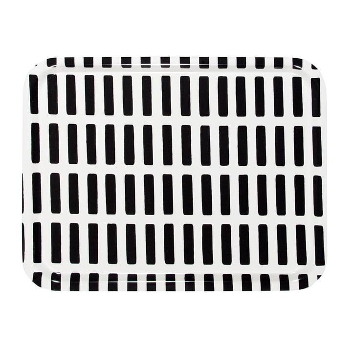 Artek - Siena Tablett, groß, weiß/ schwarz