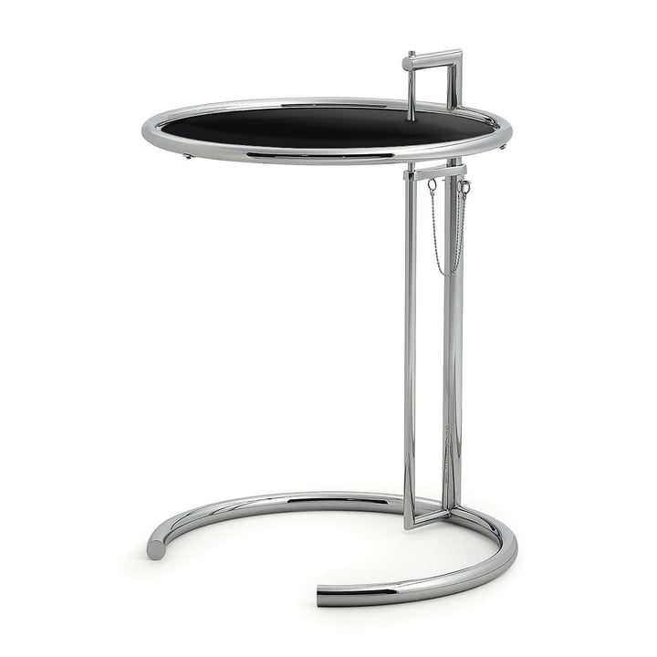 ClassiCon - Adjustable Table E1027, schwarz foliert
