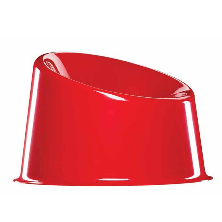 Panto Pop Stuhl von Verpan in Rot